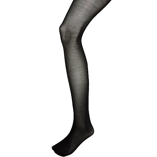 Black Jonathan Aston high shine disco tights