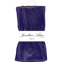 Purple Jonathan Aston high shine disco tights