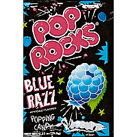 Pop Rocks blue razz popping candy