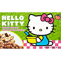 Hello Kitty cookie dough sweets