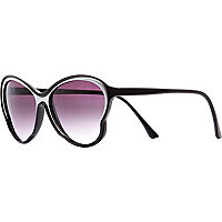 Black Jeepers Peepers oversized sunglasses