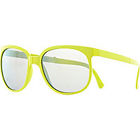 Yellow Jeepers Peepers folding sunglasses