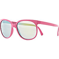 Pink Jeepers Peepers folding retro sunglasses