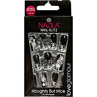 Nazila naughty but nice stick on nails