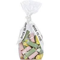 Haribo rhubarb and custard tube sweets