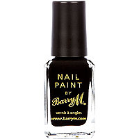Black Barry M nail varnish