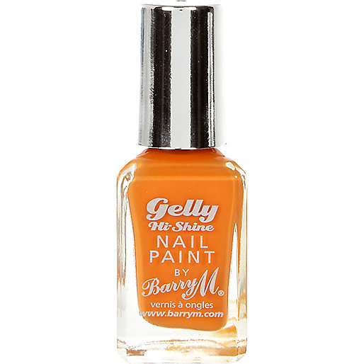 Mango Barry M gelly nail polish