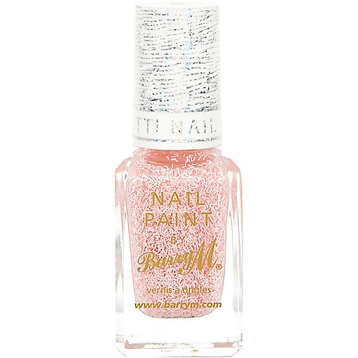 Marshmallow Barry M confetti nail varnish