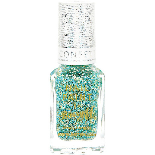 Sour apple Barry M confetti nail varnish