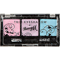 Pretty pastels Barry M trio eyeshadow