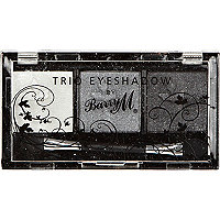 Smoky seduction Barry M trio eyeshadow