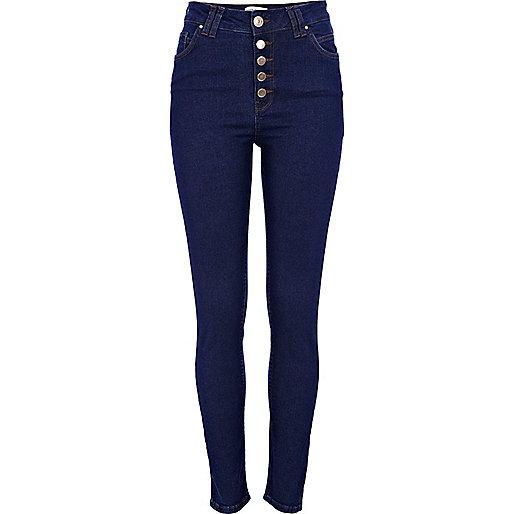 Dark wash Etta superskinny jeans