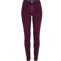 Dark red Molly jeggings