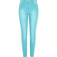 Turquoise Molly jeggings
