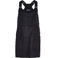 Black Chelsea Girl dungaree dress