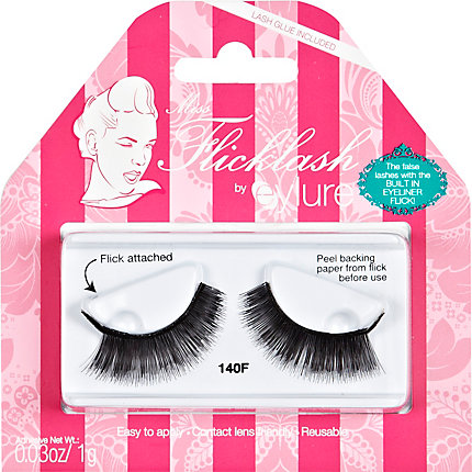 Eylure Miss Flicklash false eyelashes - 140F
