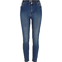 Mid wash Lana superskinny jeans
