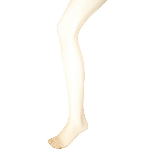 Light beige Pretty Polly gloss tights