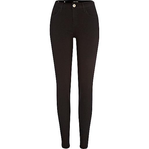 Amelie - Schwarze Superskinny Jeans