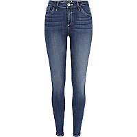 Mid wash Amelie reform superskinny jeans