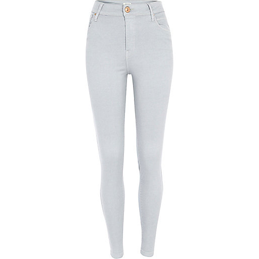 Light grey Lana superskinny jeans