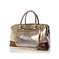 Mixed metallic panel doctors bag