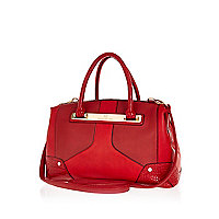 Red doctors bag