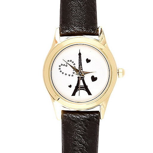 Black Paris watch
