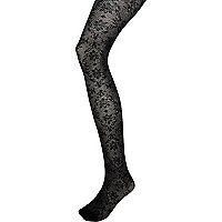 Black Jonathan Aston baroque  tights