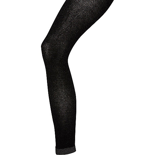 Black Jonathan Aston metallic tights