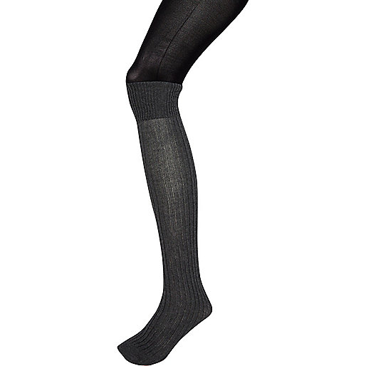 Grey Jonathan Aston 2 in 1 tights