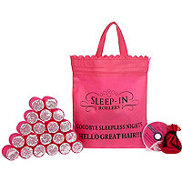 Pink sleep-in rollers set