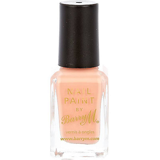 Peach melba Barry M nail polish