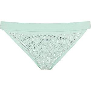 Light green heatseal bikini bottoms