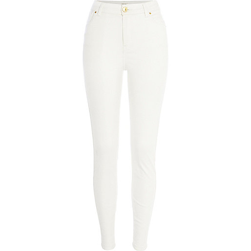 White Lana superskinny jeans