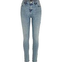 Light wash Amelie reform superskinny jeans