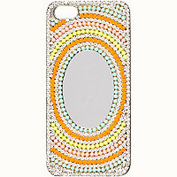 Mirrored diamante iPhone 4/4S case