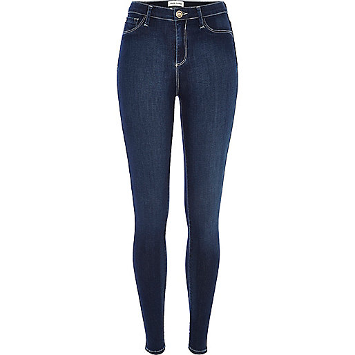 Dark wash Molly reform jeggings