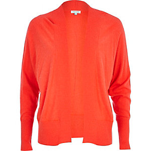 Coral long sleeve cardigan