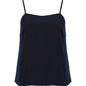 Navy cami top