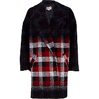 Red check Chelsea Girl coat