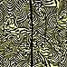 Lime tribal print strappy maxi dress