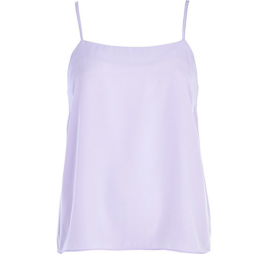 Light purple cami top