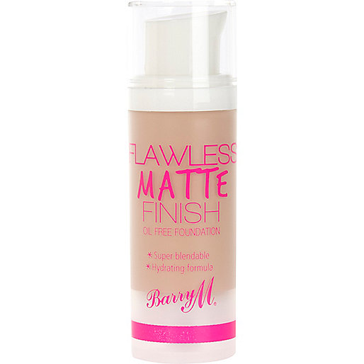 Beige Barry M flawless matte foundation