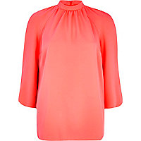 Pink Chelsea Girl turtleneck top