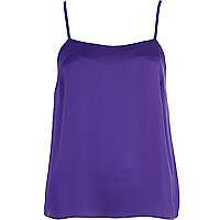 Purple cami top