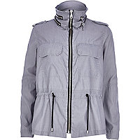 Grey anorak jacket