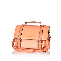 Coral large satchel