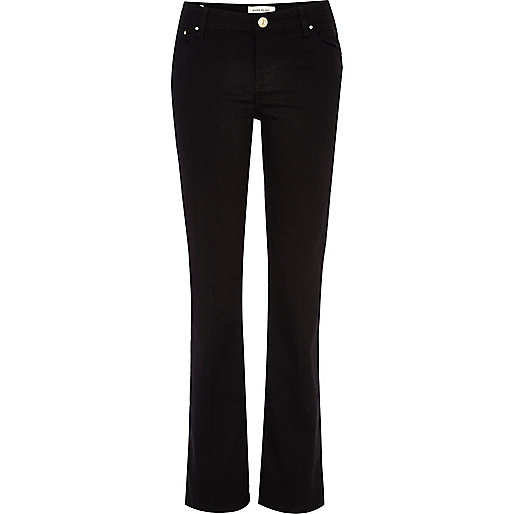 Black Alice kick flare jeans