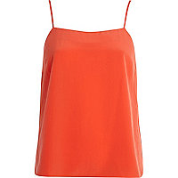 Orange cami top